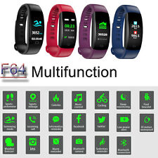 IP68 OROLOGIO SMARTWATCH 4.0 FITNESS TRACKER SPORT BAND per ANDROID iOS Telecam