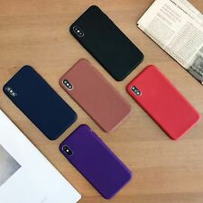 New Luxury TPU Leather Pattern Soft Phone Case Cover for iPhone 8 7 6s 6 Plus X