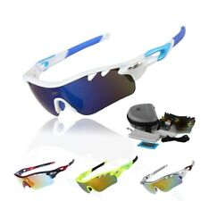Polarized Cycling Glasses Bike Goggles Fishing Sunglasses UV 400 5 Color