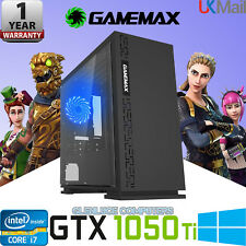 ⭐️GTX 1050 Ti Quad Core i7 Gaming PC 16GB RAM 2TB Windows 10 Desktop Computer
