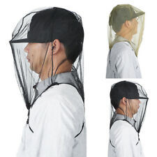 Outdoor Camping Mosquito Head Face Protection Net Bees Insect Mesh Hat Face Mask