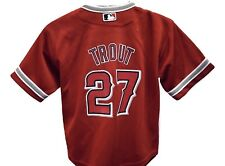 Majestic MLB Infant Los Angeles Angels Mike Trout Jersey LOOK 12, 18, 24 Months
