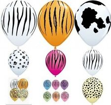 Qualatex 38.1x27.9cm Estampado Animal Globos látex apto para aire o helio