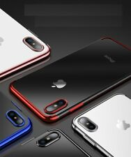 Luxury Ultra Slim Shockproof Bumper Case Cover for  iPhone  X 8 7 6s Se 5