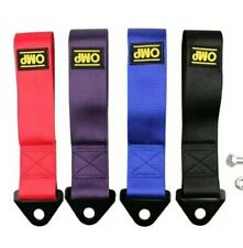 Tow OMP racing remolque hook to strap drift