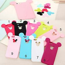 housse de couverture COQUE silicone minnie mickey mouse mickey pour iphone 5 6
