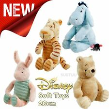 Disney Soft Baby Toys│Winnie the Pooh│Tigger│Eeyore│Piglet│Suitable From Birth
