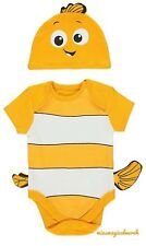 BNWT George Baby Disney Finding Nemo All In One Outfit W/Hat