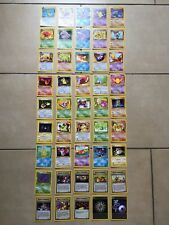 POKEMON TRADING CARD GAME CARTE SET TEAM ROCKET PRIMA 1 EDIZIONE ITA WIZARDS