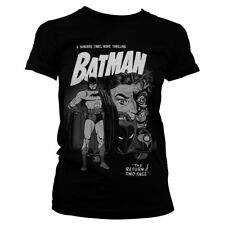Officially Licensed Batman - Return Of Two-Face Women's T-Shirt S-XXL Sizes