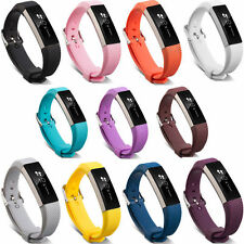 Replace Soft Silicone Wrist Watch Band Classic Strap Buckle For Fitbit Alta L