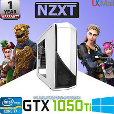 "⚡️Fast i7 Gaming Computer 16GB 2TB Desktop PC Windows 10 24"" Screen GTX 1050 ⭐️"
