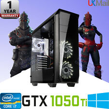⭐️GTX 1050 Ti Quad Core i5 Gaming PC 16GB RAM 2TB Windows 10 Desktop Computer
