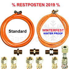 "Propane Gas Hose Odd Lot Winter Resistant Standard 1//4 /"" 3//8 /"" on the Left Or"