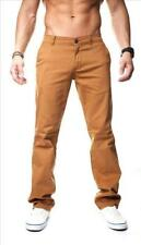 Pantalones Chinos Hombre Vivaldi Vaqueros regular fit Marrón twil Mainstream