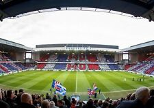 GLASGOW RANGERS FC Ibrox STADIO stampa foto immagine POSTER A3 A4