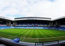 GLASGOW RANGERS FC Ibrox STADIO STAMPA FOTO PIC POSTER A3 A4
