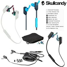 NEW XTfree Skullcandy In-ear Sport Bluetooth Wireless Earbuds w/ Mic Black Cyan