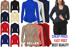 New Womens Ladies Candy Colors Stylish Suit Jacket Blazer Size 4 6 8 10 12*scbj