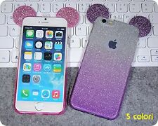 housse de couverture COQUE silicone minnie mickey mickey mouse pour iphone 5 6 7