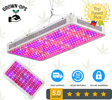 1200W Hydroponics LED Grow Lights Full Spectrum Indoor System Veg Flower Lamp