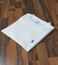 Ralph Lauren Custom Fit White Crew Neck T-Shirt