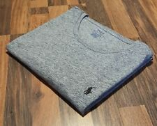 Ralph Lauren Custom Fit Marl Grey Crew Neck T-Shirt