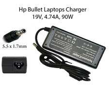 AC Adapter Hp Bullet Replacement Charger For Hp Compaq Laptops 19v, 4.74A, 90w