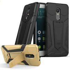 Hybrid Rubber Dual Shockproof Armor Stand Case Cover For Xiaomi Redmi 3S Note 4X