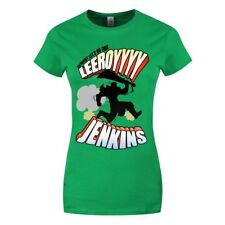 Alright Let's Do This Leeroy Jenkins Women's Green T-shirt