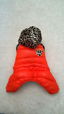 Small dog coat Dog clothes Chihuahua overalls puppycoat Yorkie Size XS - L