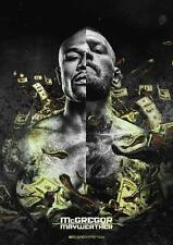 Conor McGregor V Floyd Mayweather Fight Póster UFC Boxeo Póster A4 A3