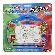PJ Masks Travel Size MagnaDoodle Magnetic Drawing Toy by Cra-Z-Art Brand New
