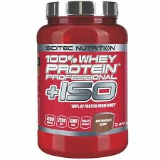 Scitec Nutrition 100% Whey Protein Professional + ISO 870 g con proteine Isolate
