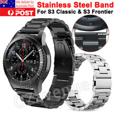 Stainless Steel Metal Watch Band Strap for Samsung Gear S3 Classic/ Frontier New
