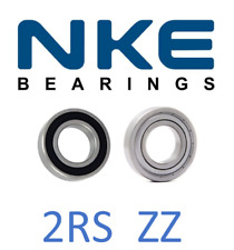 6000-6012 NKE BALL BEARING RUBBER OR METAL SEALS (2RS/2ZZ) *SELECT YOUR SIZE*