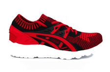 ASICS GEL-KAYANO TRAINER KNIT ROSSO NERO BIANCO H7S4N-2323