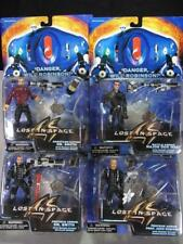 Lot of 4 Action Figures Lost In Space West Dr Smith Robinson w/ Spider NIB