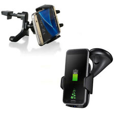 Wireless Bracket Charging For Phone Holder Enabled Black Dock Car Qi Charger