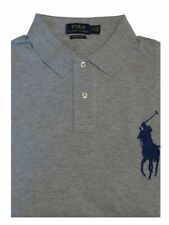 Ralph Lauren - Herren Polo Shirt - Big Pony - Grau -