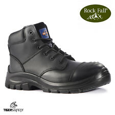 Rock Fall pro Hombre Arizona S3 Negro Puntera de Composite Bump Tapa