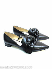Zara Pointus Chaussures Plates avec Noeud Taille UK3 EUR36 US6 Ref 2408 202