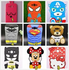 cubierta de la caja silicona spider kitty batman minnie teddy 3D