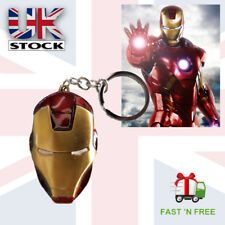 Marvel Avengers New Iron Man Gold & Red Keyring (U.K Stock) Fast Delivery