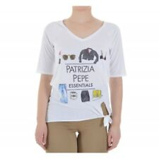 Patrizia Pepe - T-Shirt oversize con stampa donna 8J0708 A3CK