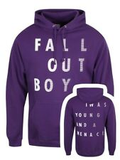 Fall Out Boy I was Young Men's Purple Pullover Hoodie