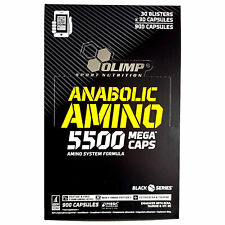 ANABOLIC AMINO 5500 BLISTERS - 100% Peptide AMINO ACIDS BCAA Whey Protein BEST