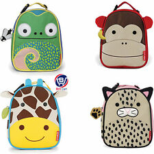 Skip Hop Zoo Lunchie Backpack Insulated Lunch Kids School Bag Zoo Animal Design
