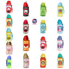Skip Hop Zoo Character Baby Straw Bottles Child Toddler Drinks Sippy Cups -12 oz