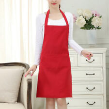 Apron Tow Pocket Chefs Butcher Kitchen Cooking Craft Catering Baking JDUK